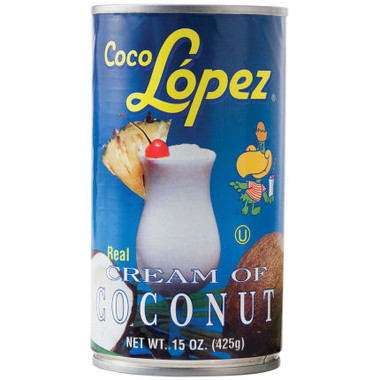 Coco Lopez Cream of Coconut 15oz