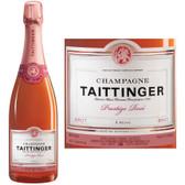 Champagne Taittinger Cuvee Prestige Rose NV 375ml