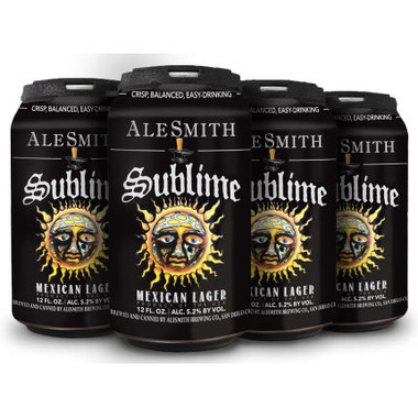 AleSmith Sublime Mexican Lager 12oz 6 Pack Cans