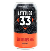 Latitude 33 Brewing Blood Orange IPA 12oz 6 Pack Cans