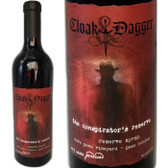 Cloak & Dagger The Conspirator's Reserve Dove Pond Vineyard Paso Robles Syrah