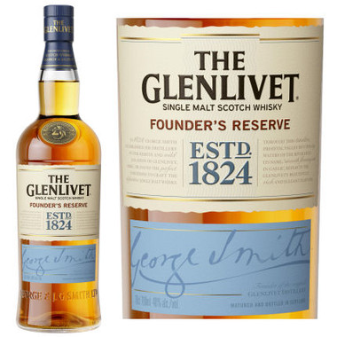 The Glenlivet Founders Reserve Single Malt Scotch 750ml