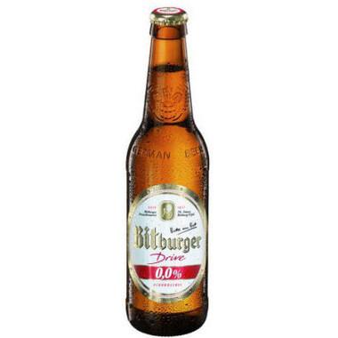 Bitburger Drive Alcohol Free 330ml Single Bottle