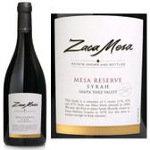 Zaca Mesa Mesa Reserve Santa Ynez Syrah