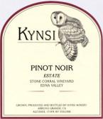 Kynsi Stone Corral Vineyard Pinot Noir