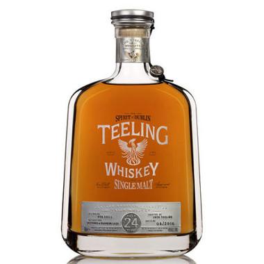 Teeling 24 Year Old Single Malt Irish Whiskey 750ml