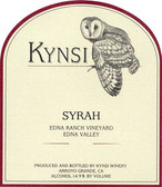 Kynsi Edna Ranch Vineyard Syrah