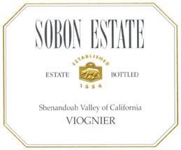 Sobon Estate Amador Viognier