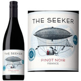 12 Bottle Case The Seeker Vin de Pays Pinot Noir 2016 (France) w/ Free Shipping