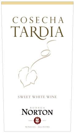 Norton Cosecha Tardia Late Harvest Chardonnay (Argentina)