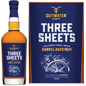 Cutwater Spirits Three Sheets California Small Batch Barrel Aged Rum 750ml