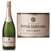 12 Bottle Case Piper Sonoma Brut Rose NV w/ Free Shipping
