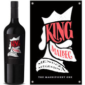 12 Bottle Case King Mendoza Malbec 2017 (Argentina) w/ Free Shipping