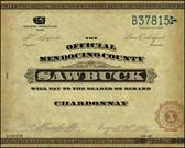 Sawbuck Mendocino Chardonnay