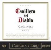 12 Bottle Case Concha Y Toro Casillero del Diablo Reserve Carmenere 2016 (Chile) w/ Free Shipping
