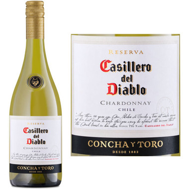 Concha Y Toro Casillero del Diablo Chardonnay (Chile)