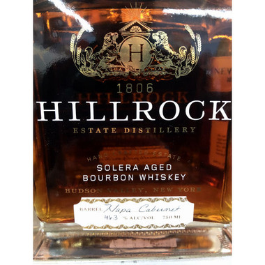 Hillrock Solera Aged Bourbon Whiskey 750ml