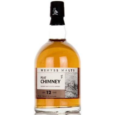 Wemyss PEAT CHIMNEY 12 Year Old Blended Malt Scotch 750ml