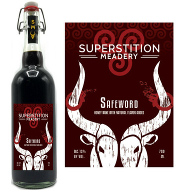 Superstition Meadery Safeword Honey Wine 750ml