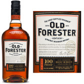 Old Forester 100 Proof Kentucky Bourbon 750ml