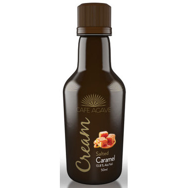 50ml Mini Cafe Agave Salted Caramel Cream Liqueur