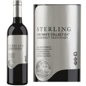 12 Bottle Case Sterling Vintner's Collection California Cabernet 2016 w/ Free Shipping