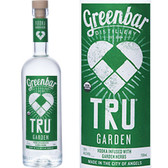 Greenbar TRU Garden Organic Vodka 750ml