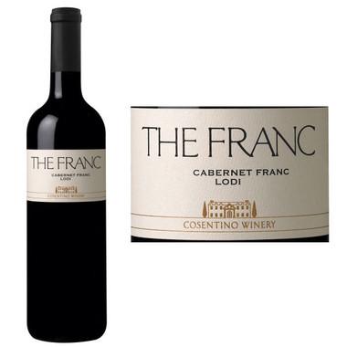 Cosentino THE FRANC Lodi Cabernet Franc
