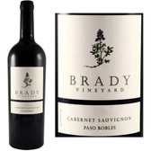Brady Vineyard Paso Robles Cabernet 2016