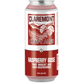 Claremont Craft Ales Raspberry Gose 16oz 4 Pack Cans
