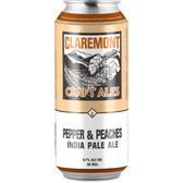Claremont Craft Ales Pepper & Peaches IPA 16oz 4 Pack Cans