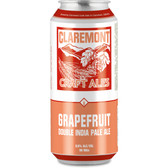Claremont Craft Ales Grapefruit Double IPA 16oz 4 Pack Cans