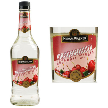 Hiram Walker Kirschwasser Cherry Brandy 750ml