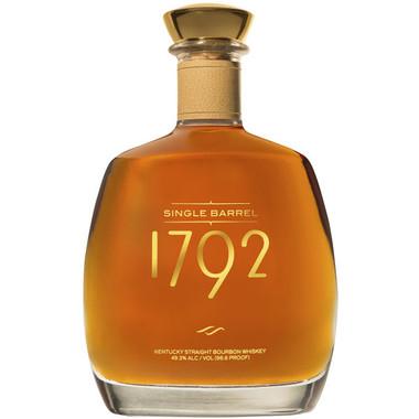 1792 Single Barrel Kentucky Straight Bourbon Whiskey 750ml