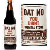 No Clue Brew Oat No You Didn't Oatmeal Stout 22oz