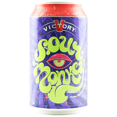 Victory Brewing Sour Monkey Brett Tripel 12oz 6 Pack Cans