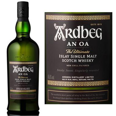 Ardbeg AN OA Islay Single Malt Scotch 750ml