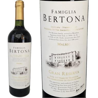 Famiglia Bertona Gran Reserva Malbec