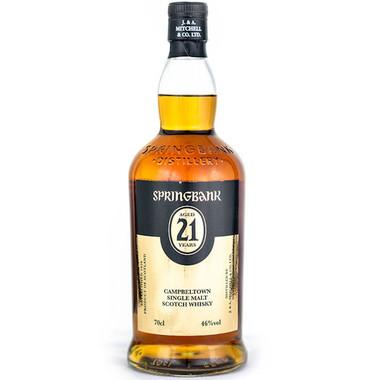 Springbank 21 Year Old Campbeltown Single Malt Scotch 750ml