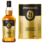 Springbank 21 Year Old Campbeltown Single Malt Scotch 750ml