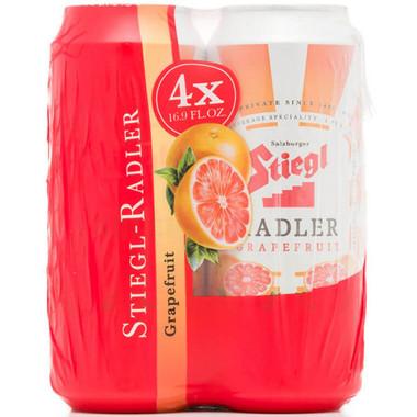 Stiegl Grapefruit Radler 16.9oz 4 Pack Cans