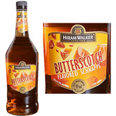 Hiram Walker Butterscotch Flavored Schnapps US 1L
