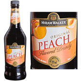 Hiram Walker Peach Flavored Brandy US 1L