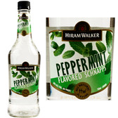 Hiram Walker Peppermint Flavored Schnapps 60 PROOF US 1L