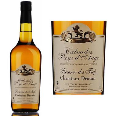 Christian Drouin Reserve des Fiefs Pays d'Auge Calvados Brandy