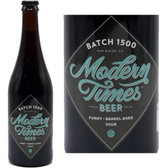 Modern Times Batch 1500 Dark Sour Saison Ale 750ml