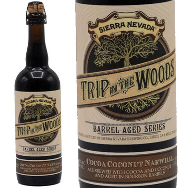 """Sierra Nevada """"Trip in the Woods"""" Barrel-Aged Cocoa Coconut Narwhal 750ml"""