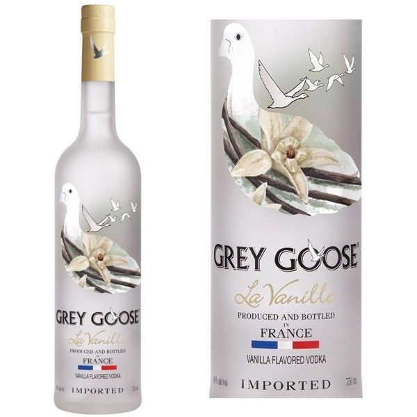 grey goose la vanille french grain vodka 750ml