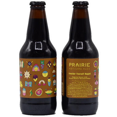 "Prairie Artisan Ales ""Consider Yourself Hugged"" Imperial Stout with Peanut Butter Roasted Coffee 12oz"