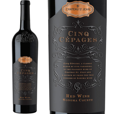 Chateau St. Jean Cinq Cepages Sonoma Red Wine